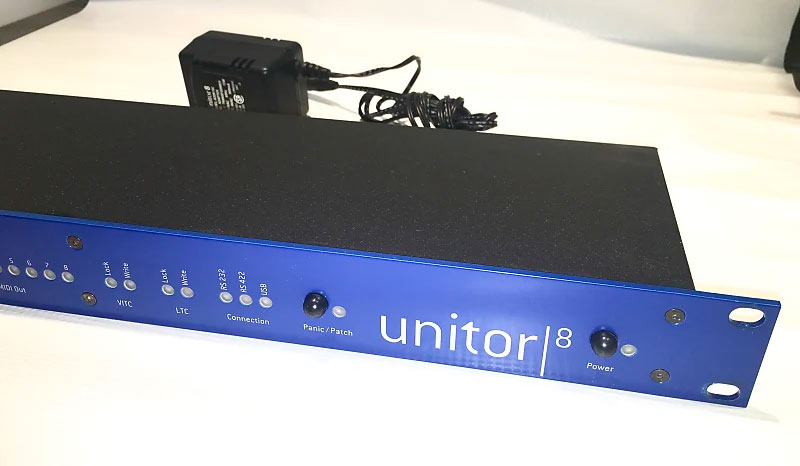 Emagic Unitor8mkII Midi 8×8 switch