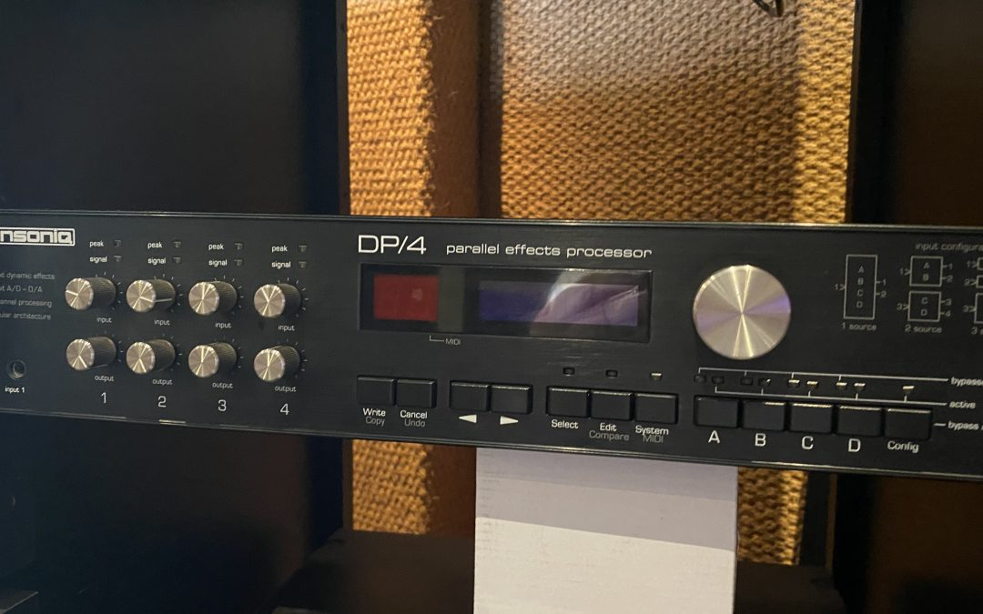 Ensoniq DP-4 FX Processor