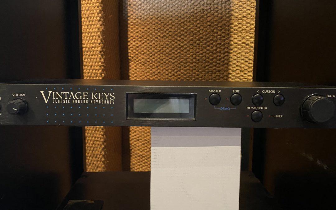 E-mu Vintage Keys Sound Module